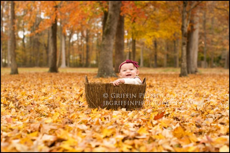 Virginia Beach Baby Photographer Fall Portraits