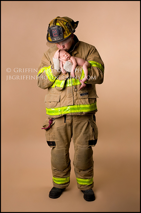 virginia beach firefighter newborn chesapeake portrait studio
