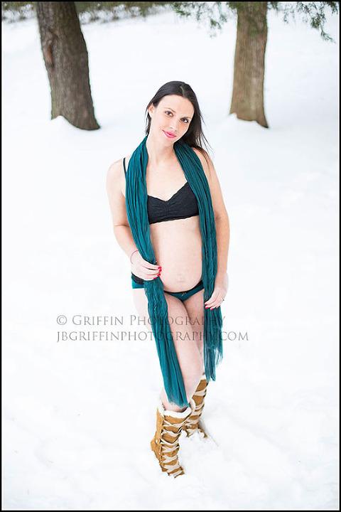 viginia beach maternity portraits snow chesapeake