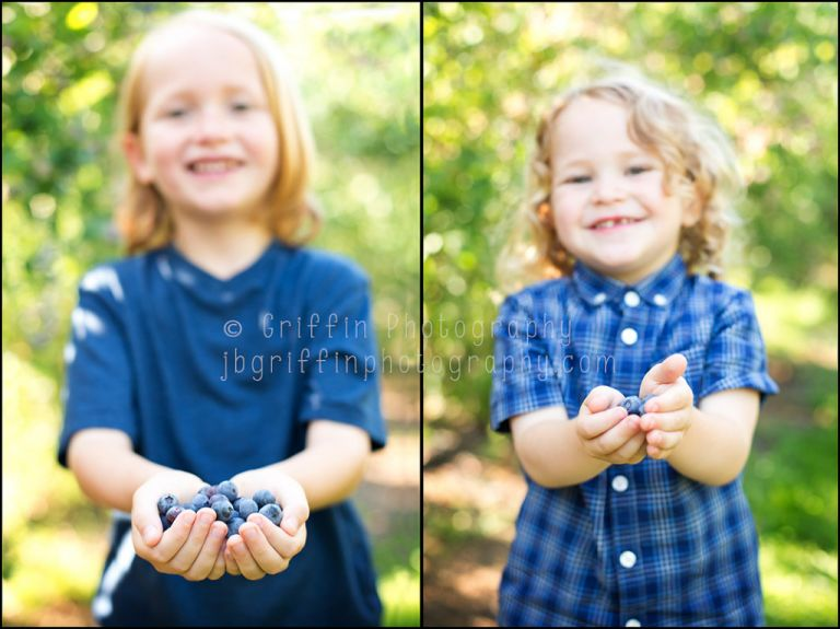 Virginia Beach Family Portrait Photographer Blueberry