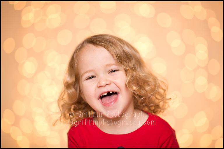 hampton roads child photographer christmas portraits lights