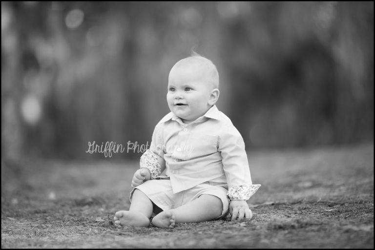 virginia beach chesapeake family portraits baby outdoor
